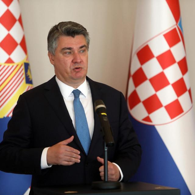 Zoran Milanović, predsjednik Republike
