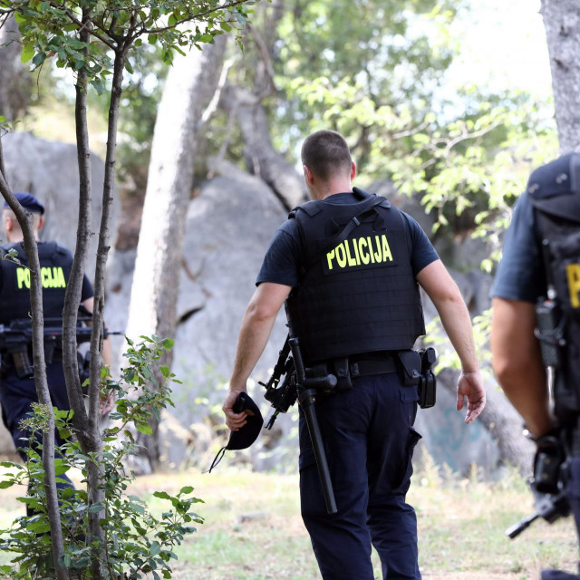 Policajci u potjeri za bjeguncem