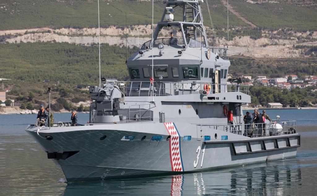 Ophodni brod 'Omiš' prvi je od serije brodova koje će napraviti 'Brodosplit'