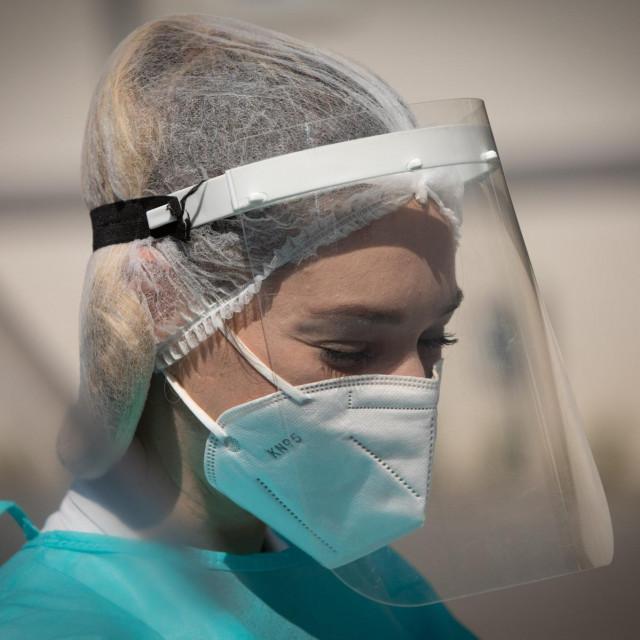Split, 260820.<br /> U Nastavnom zavodu za javno zdravstvo koriste se novi<br /> uredjaji za obradu testova na koronuvirus.<br />