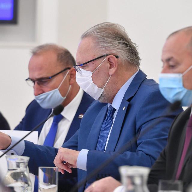 Davor Božinović na današnjoj sjednici Vlade