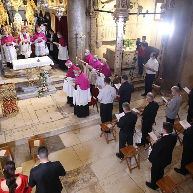 Misno slavlje održano je u katedrali sv Duje