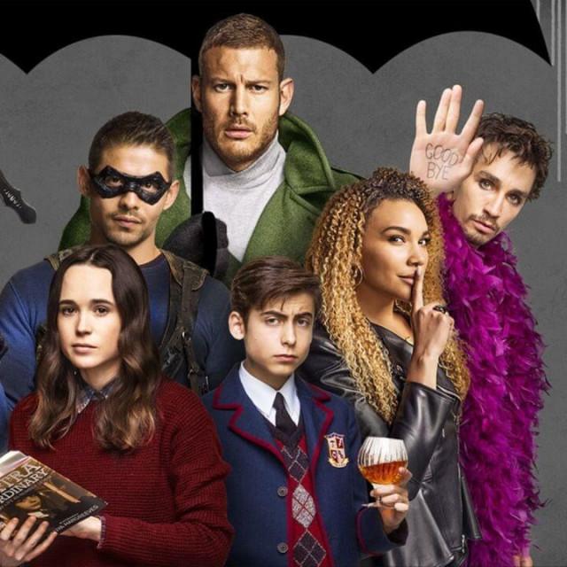 The Umbrella Academy - Netflixov pandan X-men