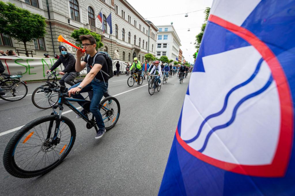 Prizor iz Ljubljane, glavnog grada Slovenije