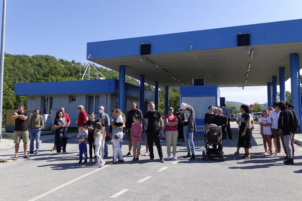 Današnji prosvjed namalograničnom prijelazu Vinica kod Aržana