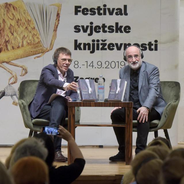 Seid Serdarević i Fernando Aramburu na lanjskom FSK-u<br />