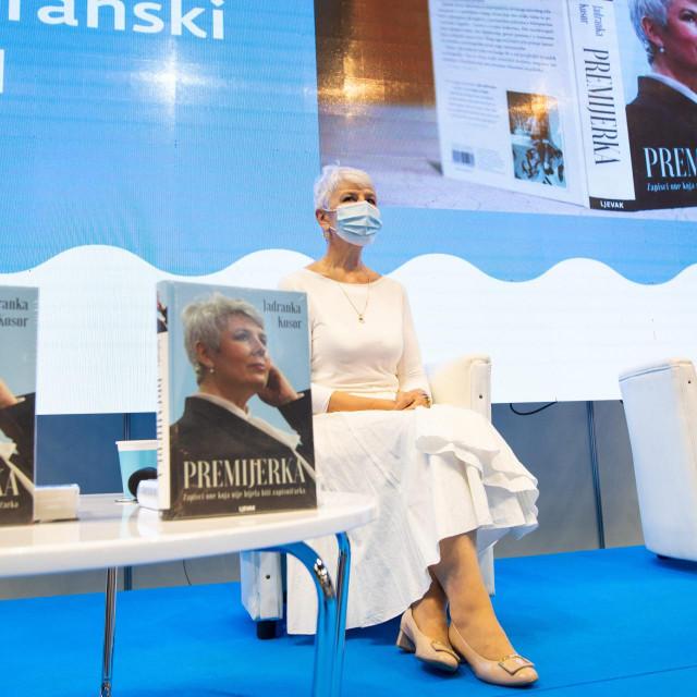 Jadranka Kosor na promociji 'Premijerke'<br />