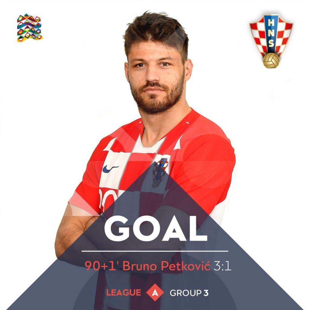 Bruno Petković, Metkovac u dresu reprezentacije Hrvatske