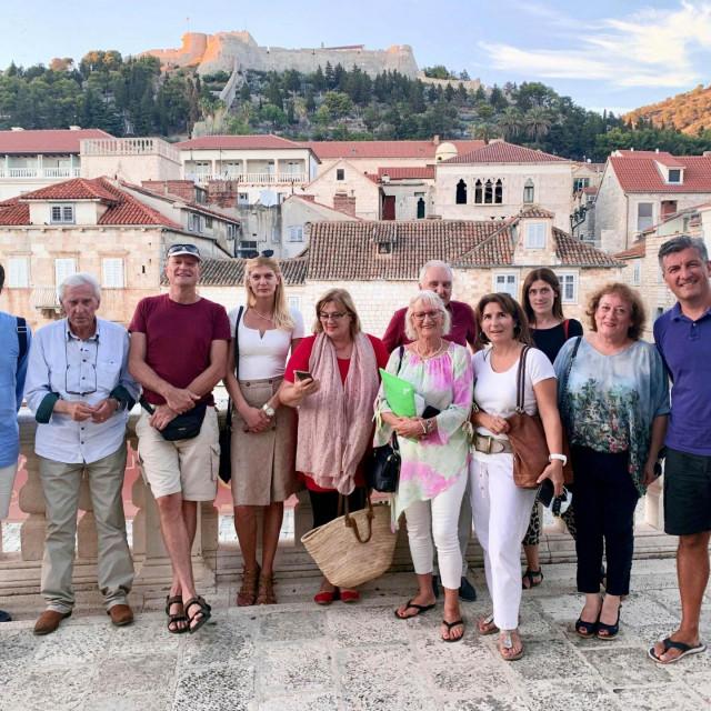 Članovi Savjeta za zdravstvo SDP-a Splitsko-dalmatinske župabije u Hvaru