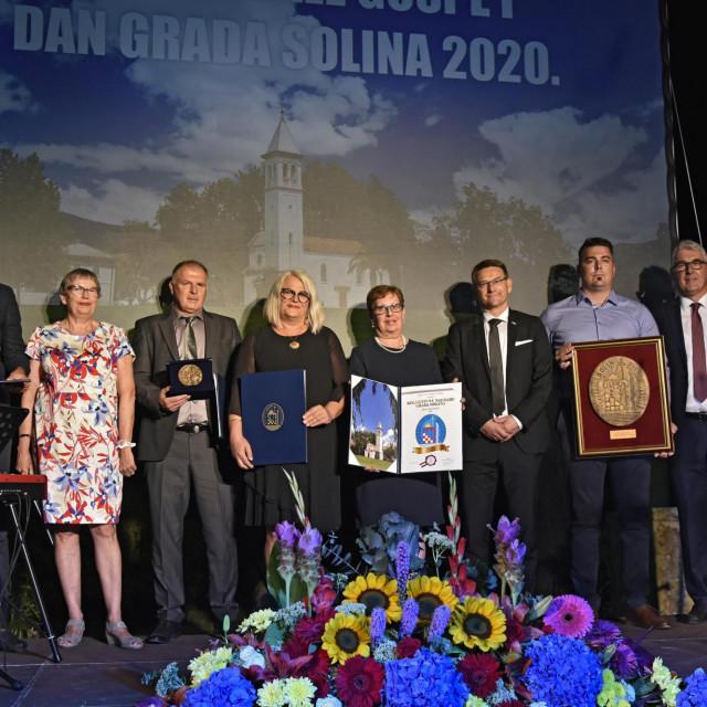 Gobitnici nagrade Grada Solina