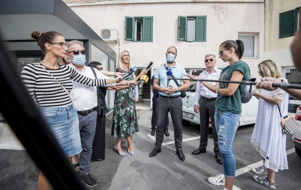 Frane Malenica, Željko Burić, Danijel Mileta i Goran Bulat dali su izjave nakon poplave ispod Poljane