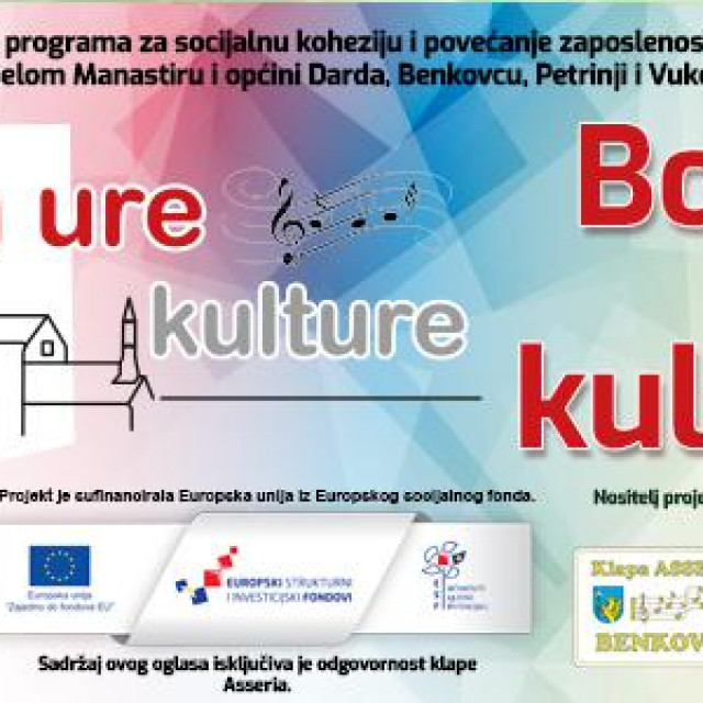 Projekt Bokun ure kulture u Benkovcu