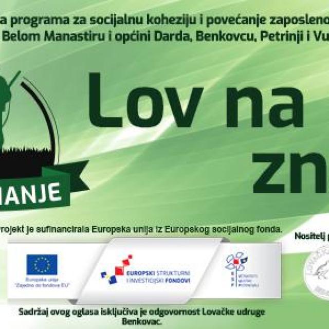 """Projekt """"Lov na znanje"""" u Benkovcu"""