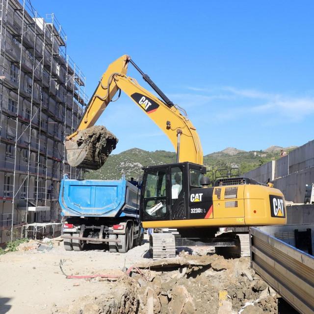 Počela izgradnja ceste za zgrade HRVI u Mokošici