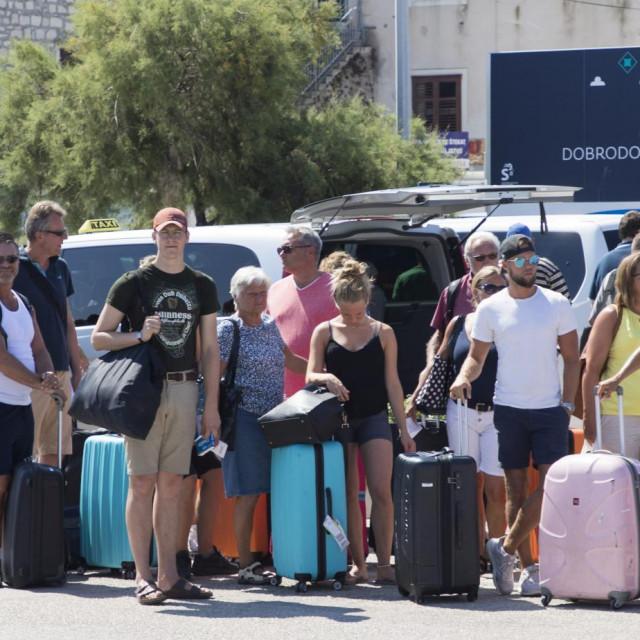 Ovoga ljeta veliki je broj gostiju stizao iz svih krajeva Hrvatske<br />