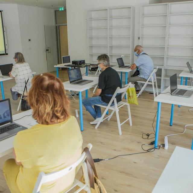 Dubrovačke knjižnice, radionica informatike