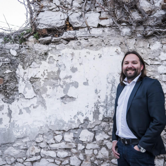 Tonči Restović, predsjednik SDP-a Šibenik.<br />