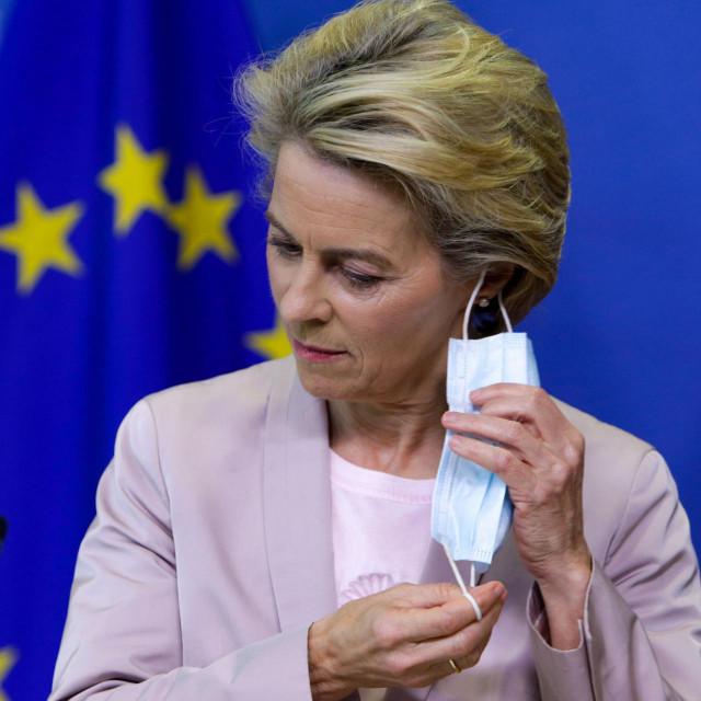 Ursula Von der Leyen, predsjednica Europske komisije