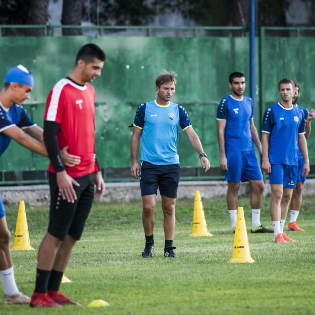 Trening igrača Šibenika uoči gostovanja u Koprivnici