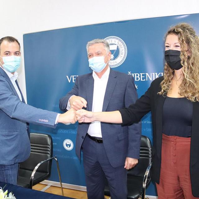 Potpisan ugovor o suradnji šibenskog Veleučilišta i Trokuta