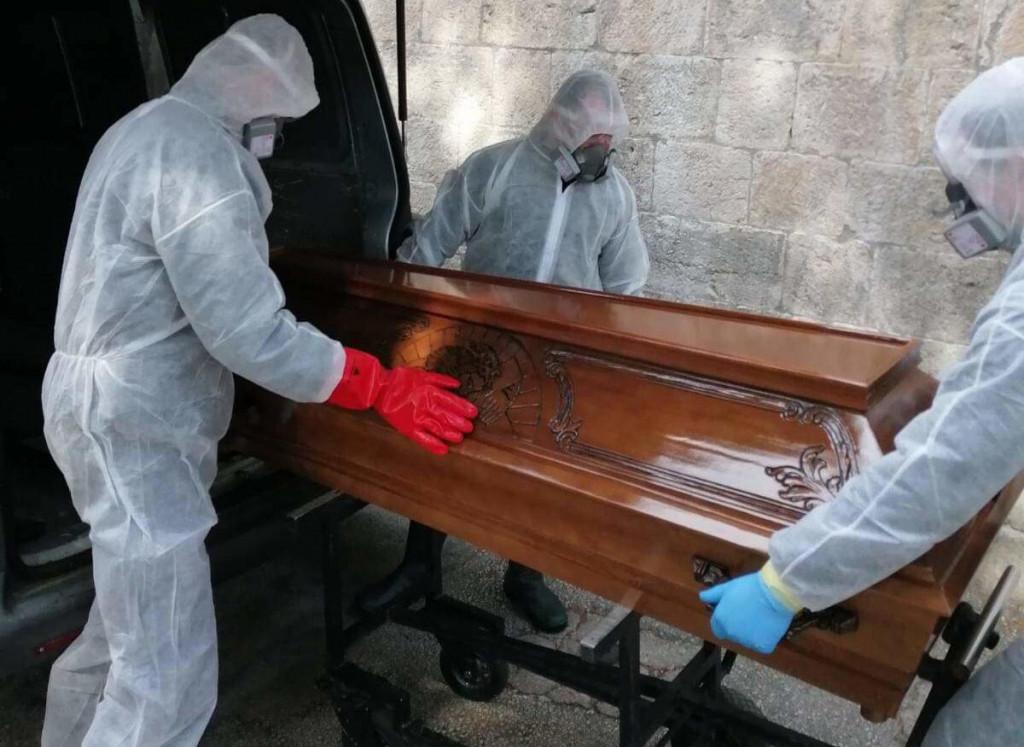 Pogreb za vrijeme pandemije COVID-19