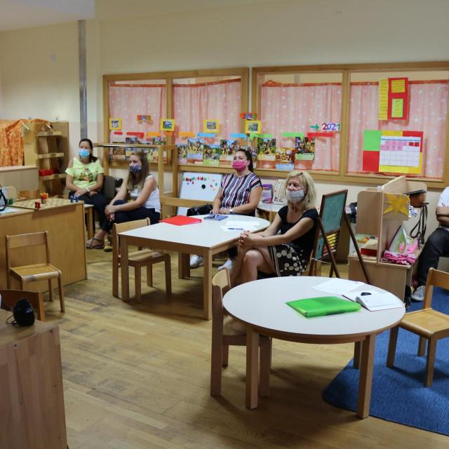 Edukacija u Dječjem vrtiću Župa dubrovačka