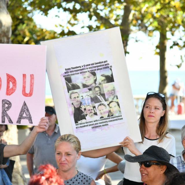 'FESTIVAL SLOBODE' Počeli prosvjedi protiv anti-korona mjera