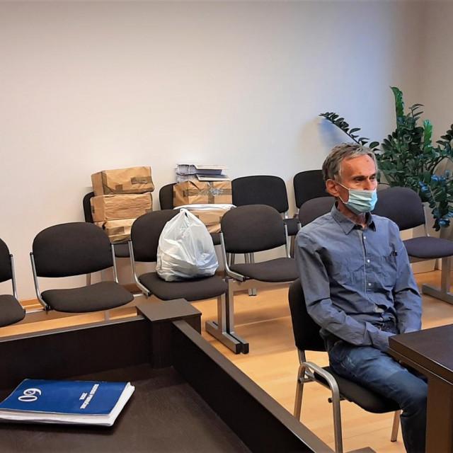 Željko Tukić u sudnici