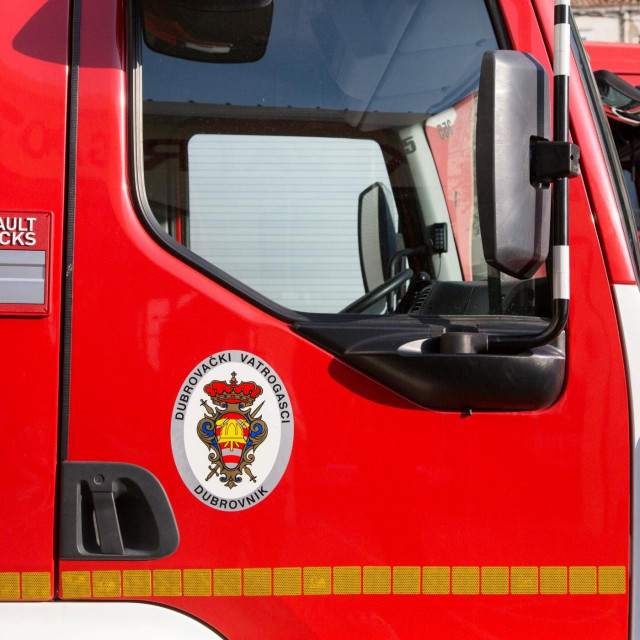 Dubrovački vatrogasci, logo