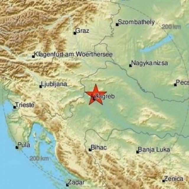 Potres u Zagrebu, Jutarnji list