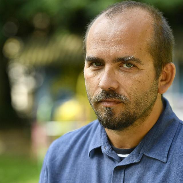Vedran Horvat, direktor Instituta za politicku ekologiju u Zagrebu.<br />
