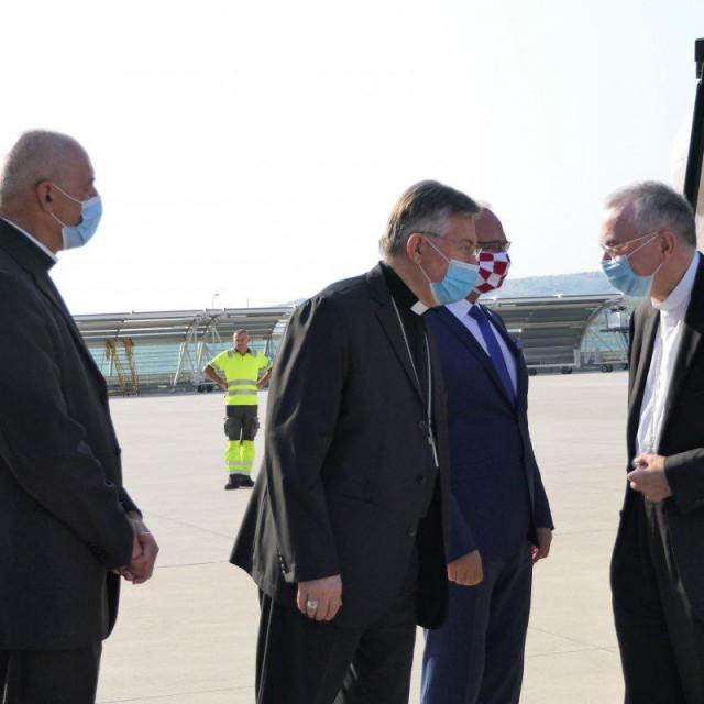 Doček u Zračnoj luci Split