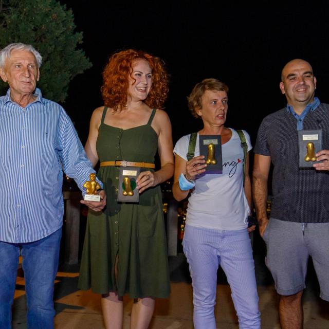 Ovogodišnji dobitnici: Dean Kružić, Gabrijela Radanović, Živana Šušak Živković i Damir Petranović