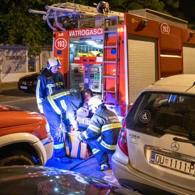 Dubrovački vatrogasci na intervenciji