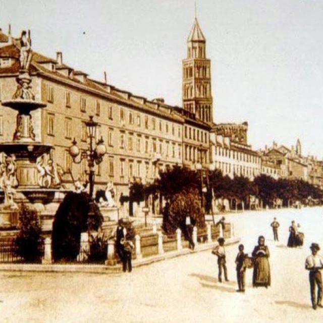 Fontana je bila jedan od simbola Splita od 1880. do 1947. godine