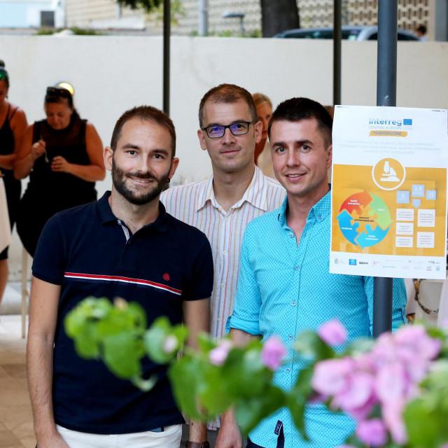 Toni Jerković, Marin Urlić i Michael Freer
