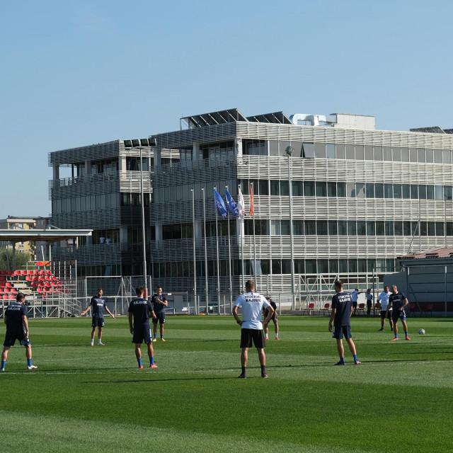 Igrači Hajduka isprobali su uvjete za igranje