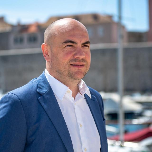 Blaž Pezo, ravnatelj Lučke uprave Dubrovnik