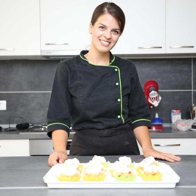 Mirna Sarić Dubrovačka je nutricionistica čije slastice smo mogli kušati na samom početku Good Food festivala