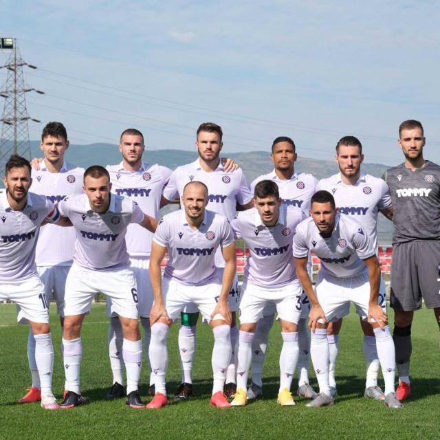 Hajdukova momčad u Skoplju