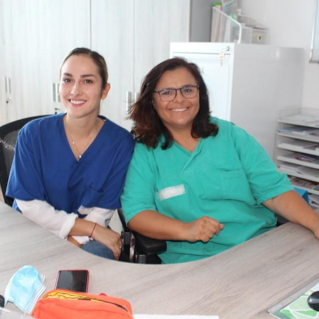 Dermatologinja Adriana Maria Camino Varela i medicinska sestra Monika Karamatić