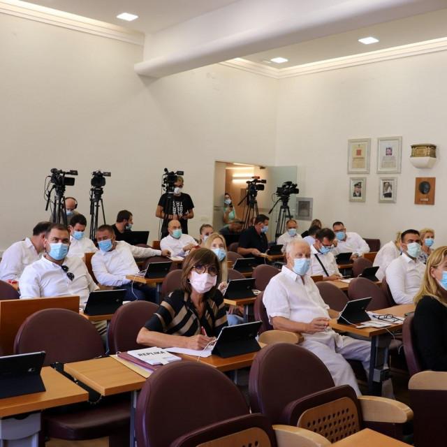Sa 31. sjednice Gradskog vijeća Grada Dubrovnika