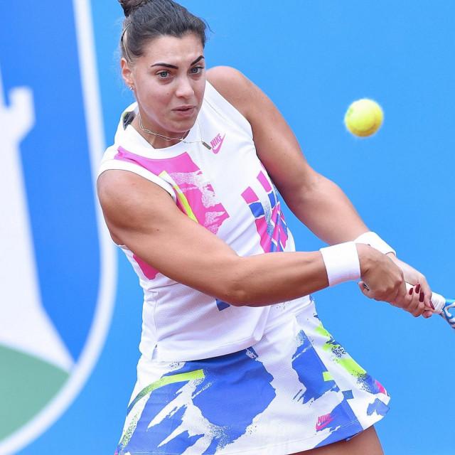 Ana Konjuh na Zagreb Ladies Openu 2020. godine foto: Damir Krajač / CROPIX