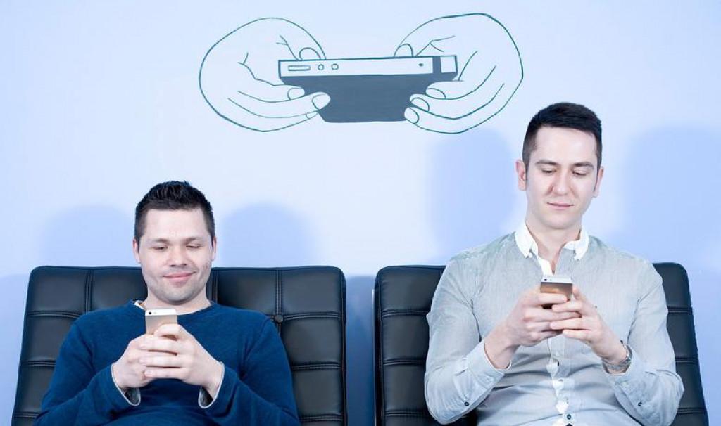 Alan Sumina (lijevo) i Zoran Vučinić, vlasnici tvrtke Nanobit