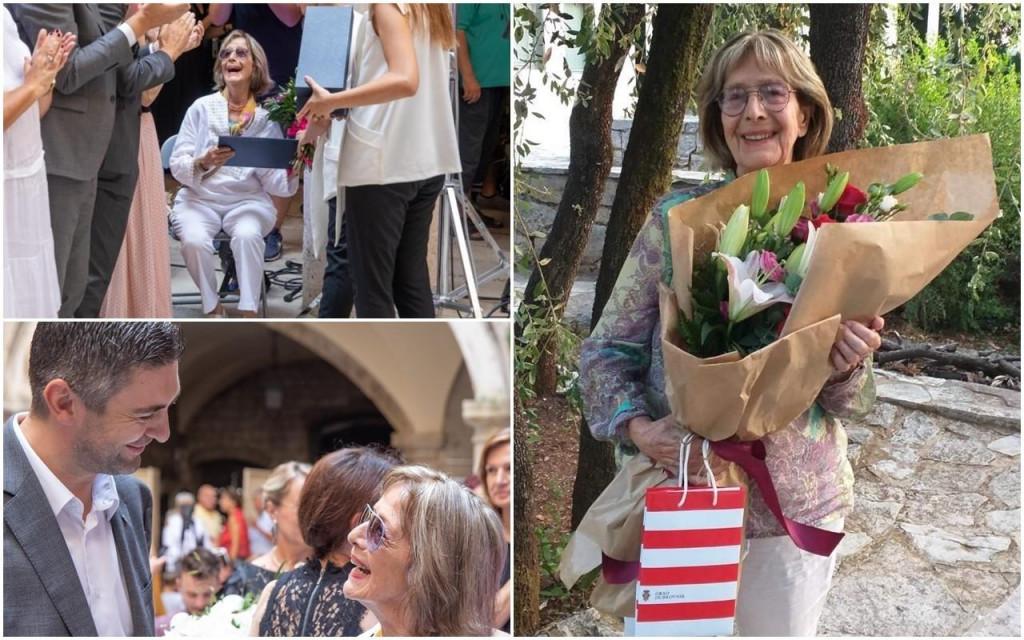90. rođendan Milke Podrug Kokotović, čestitka gradonačelnika Mata Frankovića