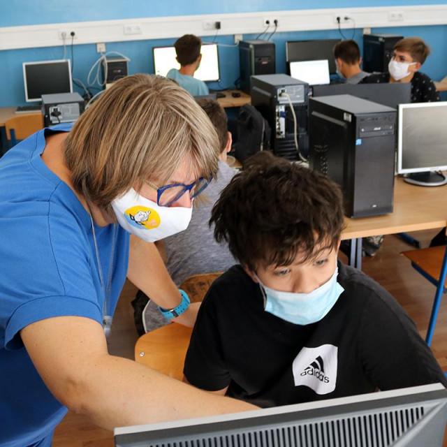 Radionica robotike u Pomorsko - tehničkoj školi