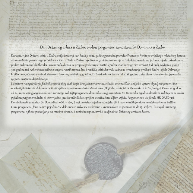 Dan Državnog arhiva u Zadru