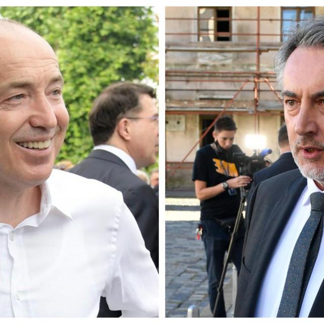 Damir Krstičević i Miroslav Škoro
