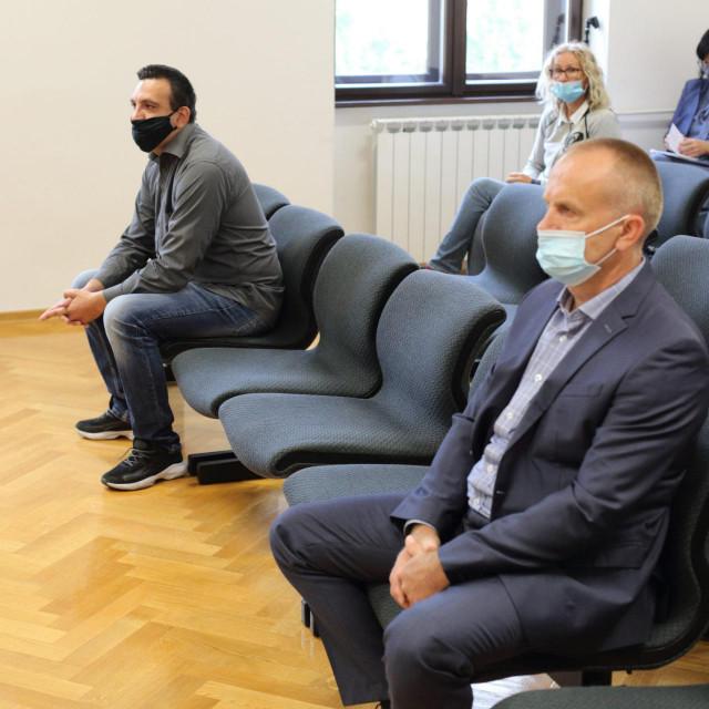 Franjo Varga i Blaž Curić u sudnici<br /> <br />