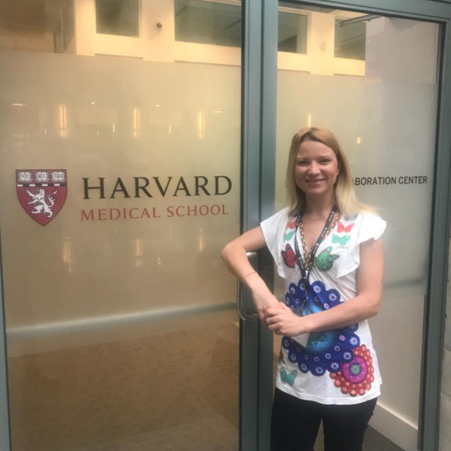 Jasna Karačić na Medicinskom fakultetu na Harvardu